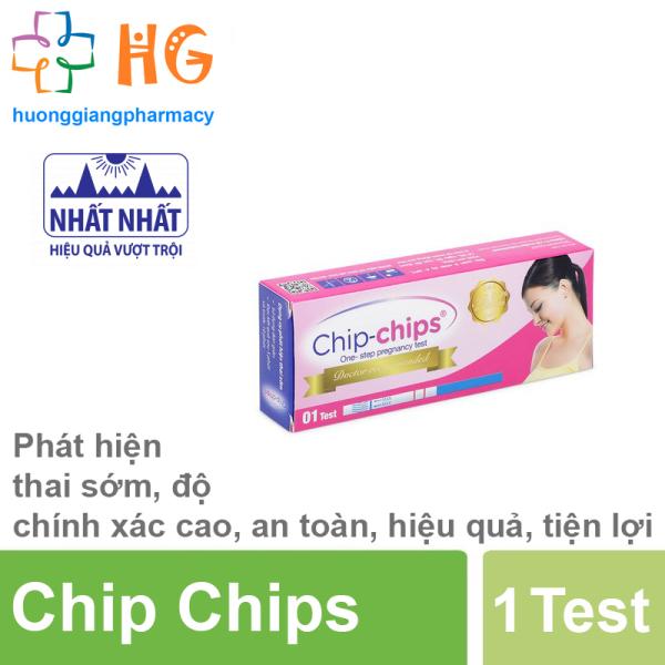 Que thử thai Chip Chips ( 1 Test )
