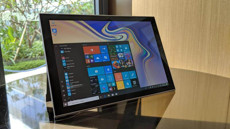Máy Tính Bảng Samsung Galaxy Book 2 - Tablet Samsung Galaxy Book 2 || Siêu Cấu hình 4/128GB 12 inh || HĐH Win 10 , 4G LTE / Hiệu năng mượt mà || Chính hãng giá rẻ tại PlayMobile / mobile chính hãng