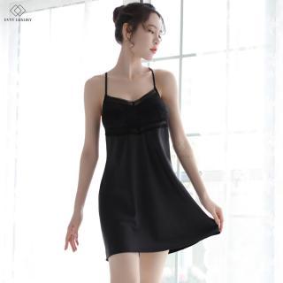 Đầm ngủ nữ, váy ngủ đẹp, váy ngủ lụa, đầm ngủ satin, váy ngủ quyến rũ từ Evyy Luxury thumbnail