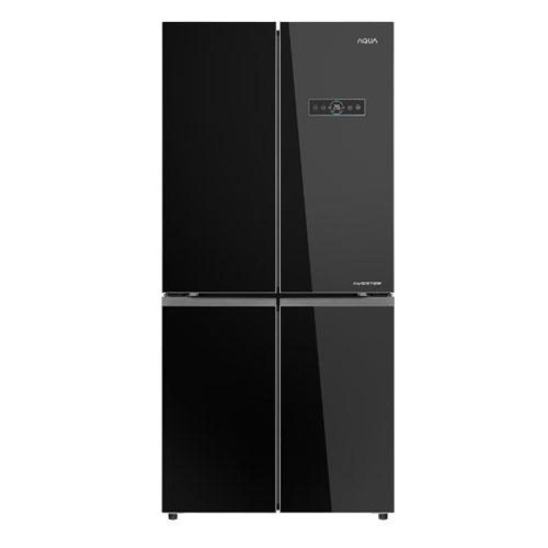 Tủ lạnh Aqua Inverter 456 lít AQR-IG525AM GB Bạc