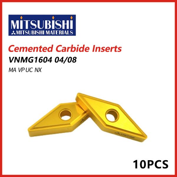 Mitsubishi Cemented Carbide Inserts VNMG 04/08 MA VP UC NX