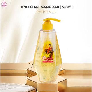 Sữa tắm hương nước hoa 24k Nano Avatar 750ml- Công nghệ Nano cao cấp Nhật Bản chăm sóc làn da trắng thơm toàn diện (thích hợp cho cả gia đình) thumbnail
