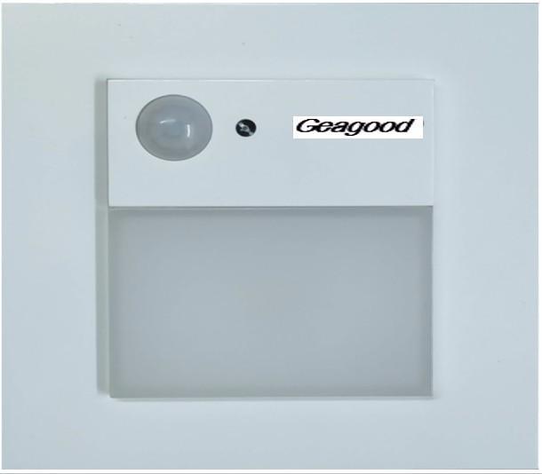 Đèn cảm ứng hồng ngoại lắp cầu thang Geagood PSC21