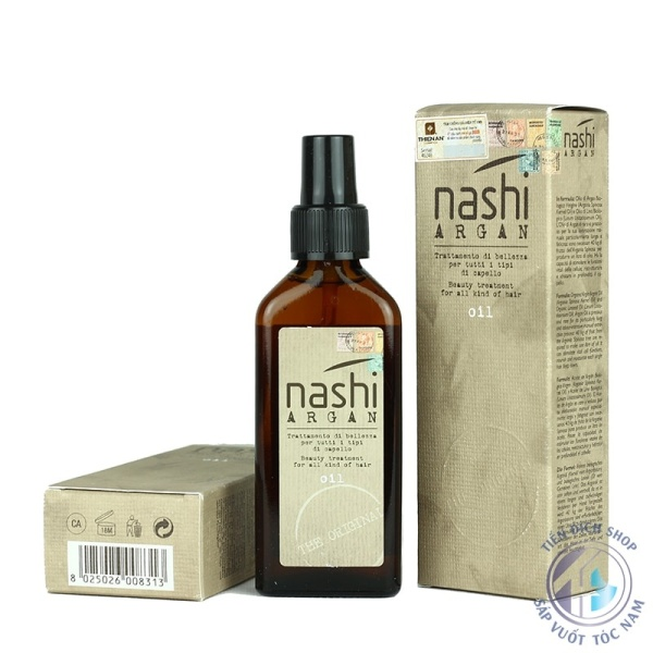 ( QUÀ TẶNG 20-10 ) Tinh dầu phục hồi tóc Nashi Argan iúp tóc có độ bóng đẹp tức thì  Cung cấp độ ẩm và chất dinh dưỡng giúp phục hồi tóc hư tổn  Hỗ trợ tạo kiểu tóc  Bảo vệ tóc dưới tác động của máy sấy và tia UV trong ánh nắ