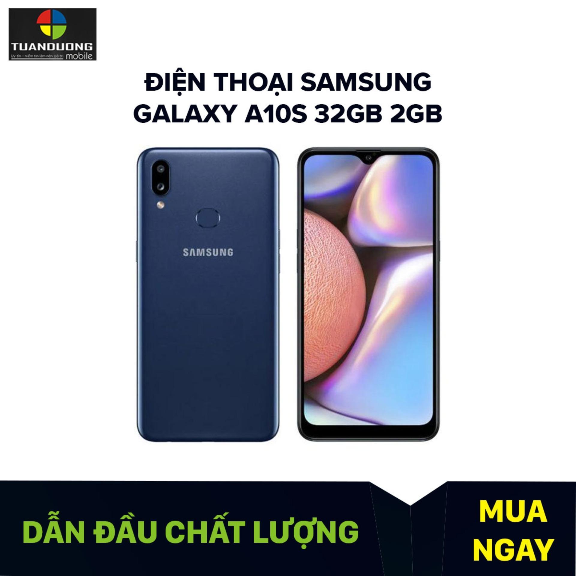 Deal Giảm Giá Điện Thoại Samsung Galaxy A10s Bộ Nhớ Trong 32GB, Ram 2GB, Android 9.0, Màn Hình HD+ 6.2 Inch, CPU MediaTek MT6762 8 Nhân 64-bit (Helio P22)