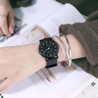 Đồng hồ thời trang nam nữ Mstianq MS021 mặt số, dây cao su cực bền thumbnail