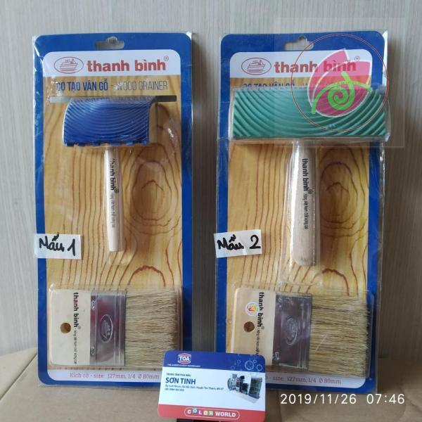 Dụng cụ tạo vân gỗ , dùng trong sơn giả gỗ thanh bình