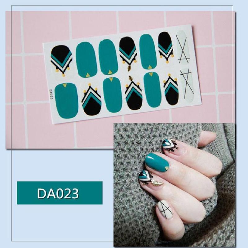 Sticker dán trang trí móng tay họa tiết dễ thương mã DA021 - DA040