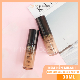 Kem nền Milani Conceal + Perfect 2in1 Foundation + Concealer 30ml thumbnail