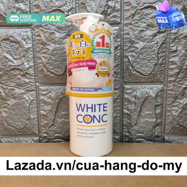 Sữa tắm trắng da White Conc Body Wash 600ml của Nhật - Marna White Conc Body Shampoo C II