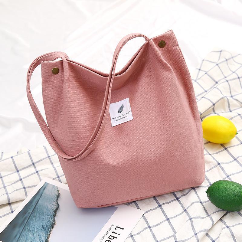 Túi vải / túi tote cho nữ chất vải đẹp thời trang cá tính D026