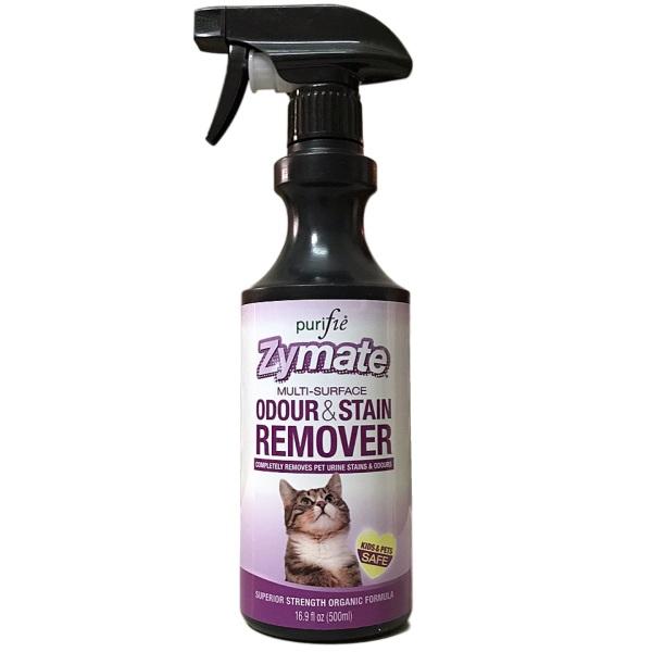 Xịt khử mùi & tẩy vết bẩn cho Mèo Purifie® Zymate Cat 500ml