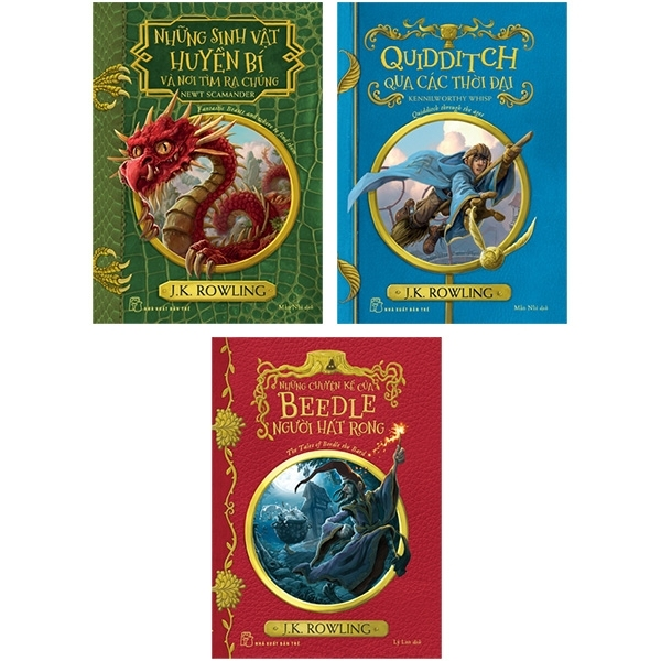 Mua Fahasa - Combo Sách Hay Harry Potter Ngoại Truyện (Bộ 3 Cuốn)