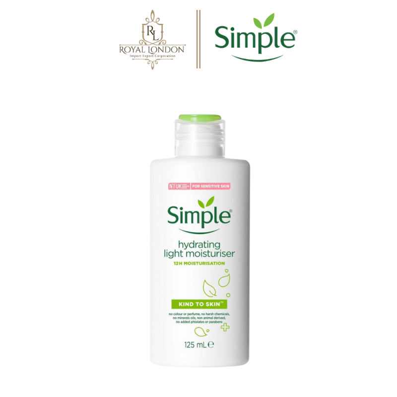 Sữa Dưỡng Da Simple Kind To Skin Hydrating Light Moisturiser 125ml giá rẻ