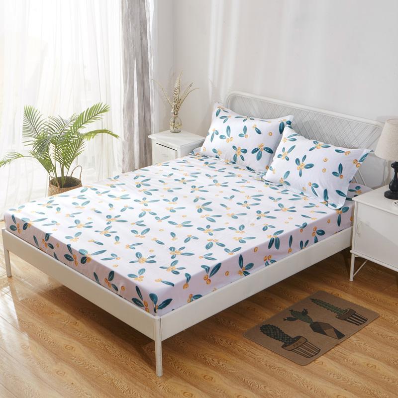 100% Cotton Ga Bọc Đệm Đơn Chiếc Bộ 100% Cotton Simmons Đệm Trải Giường Bộ Bảo Hộ Đơn 1.2m Giường Hai Người 1.5m Giường 1.8m Giường
