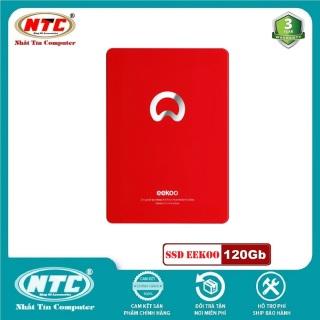 [HCM]Ổ cứng SSD EEKOO V100 120GB SATA III 2.5-inch R520MB s W400Mb s - Vỏ kim loại (Đỏ) - Nhất Tín Computer thumbnail