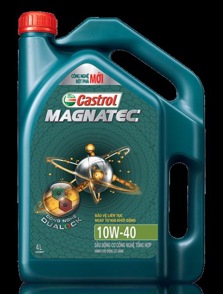 Dầu nhớt tổng hợp toàn phần cho xe ô tô Castrol MAGNATEC Professional A5 5W-30 4Lít
