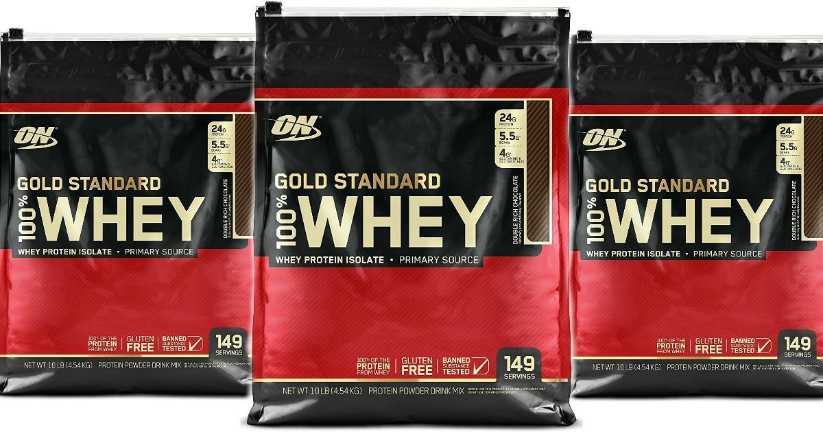 Thực phẩm bổ sung Optimum Nutrition Whey Gold Standard 10Lbs cao cấp