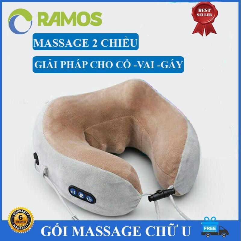 Gối Massage 2 Chiều Chữ U Hàng Cao Cấp  Đa Năng, Gối Ngủ Văn Phòng, Gối Mát Xa, Gối Massage Trị Liệu, Gối Massage Cổ, Gối Massage Cổ Cao Cấp, Gối Massage Hình Chữ U, Gối Mát Xa Cổ - RAMOS STORE