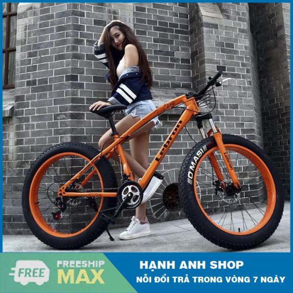 Mua [ Hàng Chính Hãng ] Xe đạp thể thao bánh béo LEBRON - Xe đạp leo núi - Nhập khẩu đài loan - Bảo hành 12 tháng