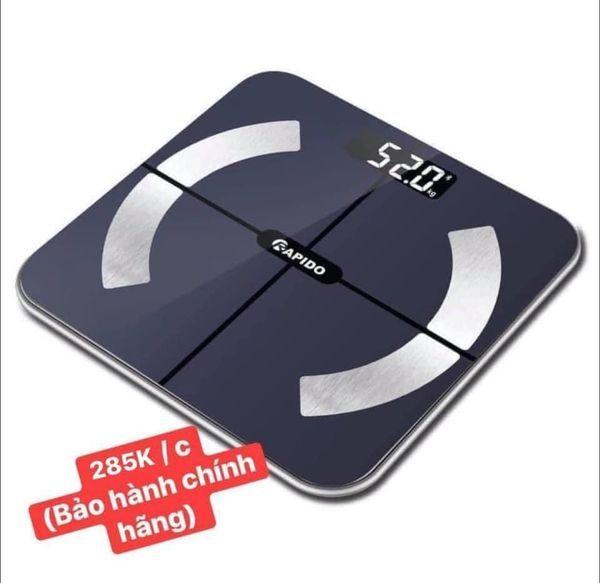 Cân sức khỏe Rapido RBS02-S - Smart body fat scale