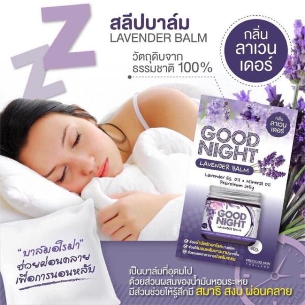 Dầu Cù Là Giúp Ngủ Ngon Grace Skin Nourishing Balm Lavender Thai lan 20gr nhập khẩu