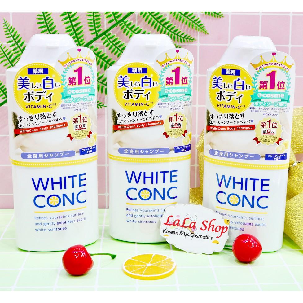Sữa tắm trắng da toàn thân White Conc Nhật Bản, cam kết sản phẩm đúng mô tả, chất lượng đảm bảo