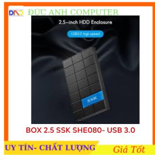 Hộp đựng ổ cứng HDD box 25inch SSK SHE 080 - hàng chính hãng 100% full box cam kết sản phẩm đúng mô tả chất lượng đảm bảo thumbnail