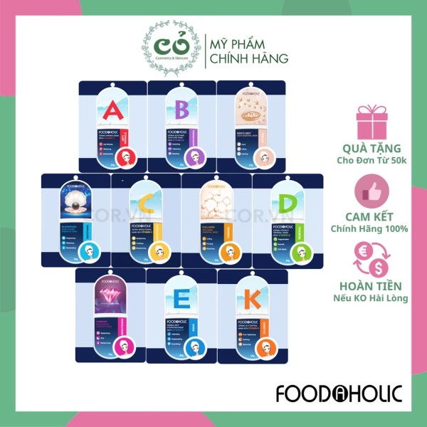 Mặt nạ giấy Foodaholic Essential Mask cao cấp
