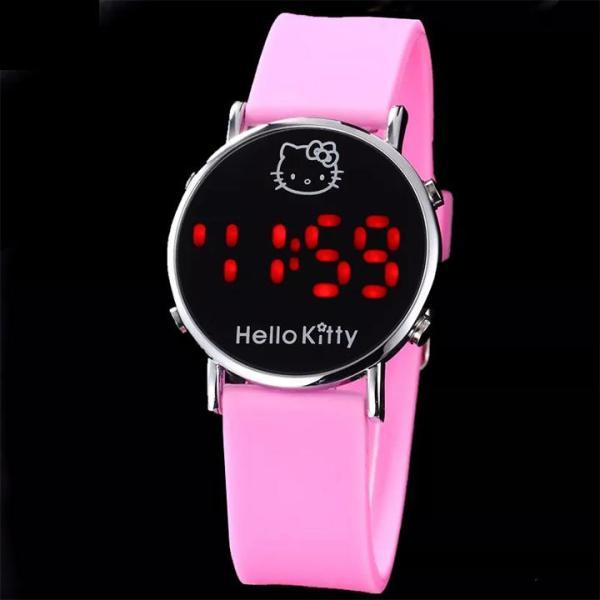 Giá bán Đồng hồ đeo tay đèn led cho bé gái năng động BBShine – DH009