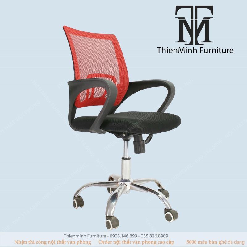 Ghế Văn Phòng - Tiêu Chuẩn ISO 9001-2000 SGS-RoHS - E0 Normaline 414 - Thiên Minh Furniture 2019 giá rẻ