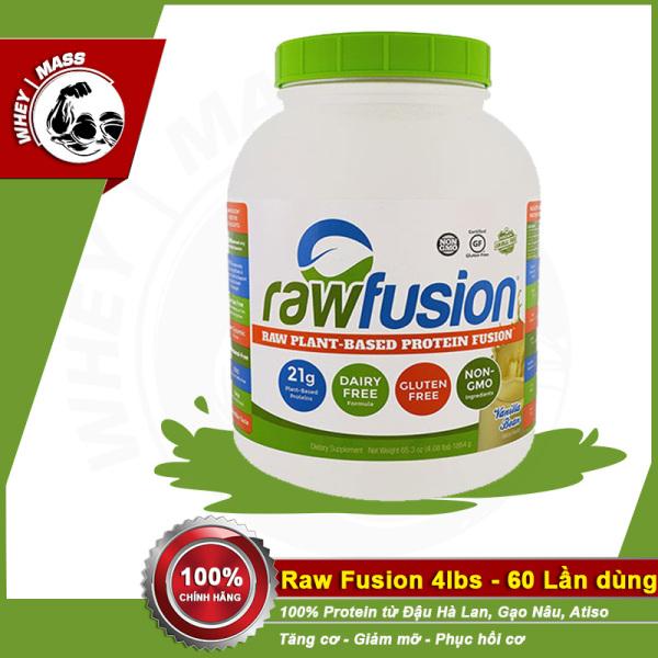 Sữa Tăng Cân Thực Vật Ít Tăng Mỡ Raw Fusion 4lbs cao cấp