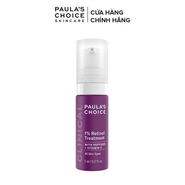 Tinh chất chống nám và nếp nhăn Paula's Choice Clinical 1% Retinol Treatment 5ml 8017