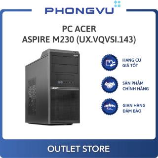 PC Acer Aspire M230 (G5400 4GB 1TB Endless) (UX.VQVSI.143) - PC cũ thumbnail