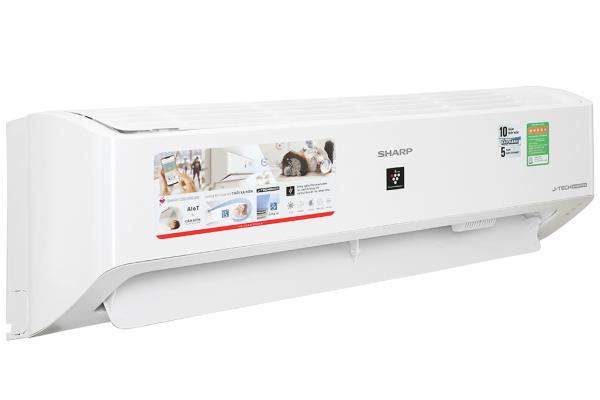 Máy lạnh - Điều hòa  Sharp Inverter 1 chiều 12000BTU 1.5 HP AH-XP13YMW - Hàng chính hãng - Bảo hành 12 tháng