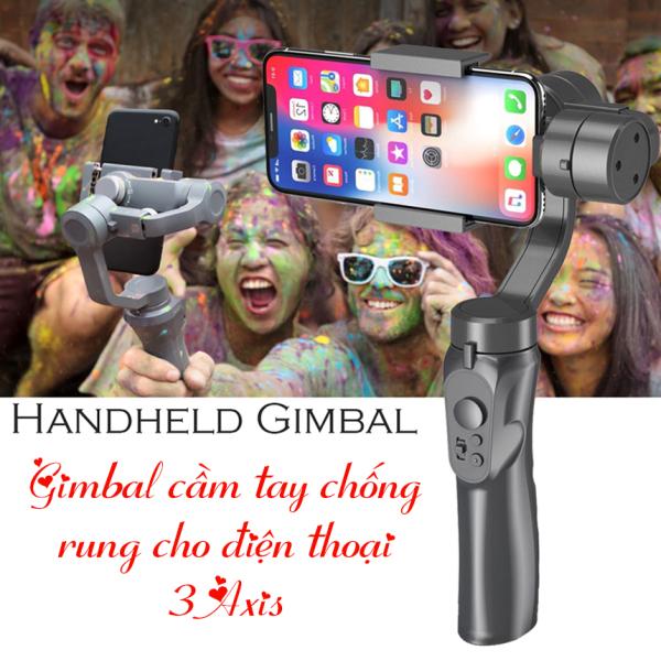 Giá Tay Cam Chong Rung, Tay Cầm Quay Video Cho Điện Thoại,Tay cầm Gimbal Bluetooth Chống Rung 3 Trục Cho Điện Thoại 3-Axis H4 Cao Cấp, Tay cầm chống rung đa năng điện thoại 3-Axis Handheld Pull & Zoom, Smartphone