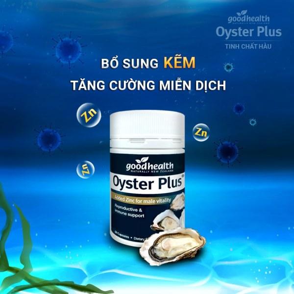 Tinh chất hàu Úc Oyster Plus 60v - Tăng cường sinh lực nam (che tên) cao cấp