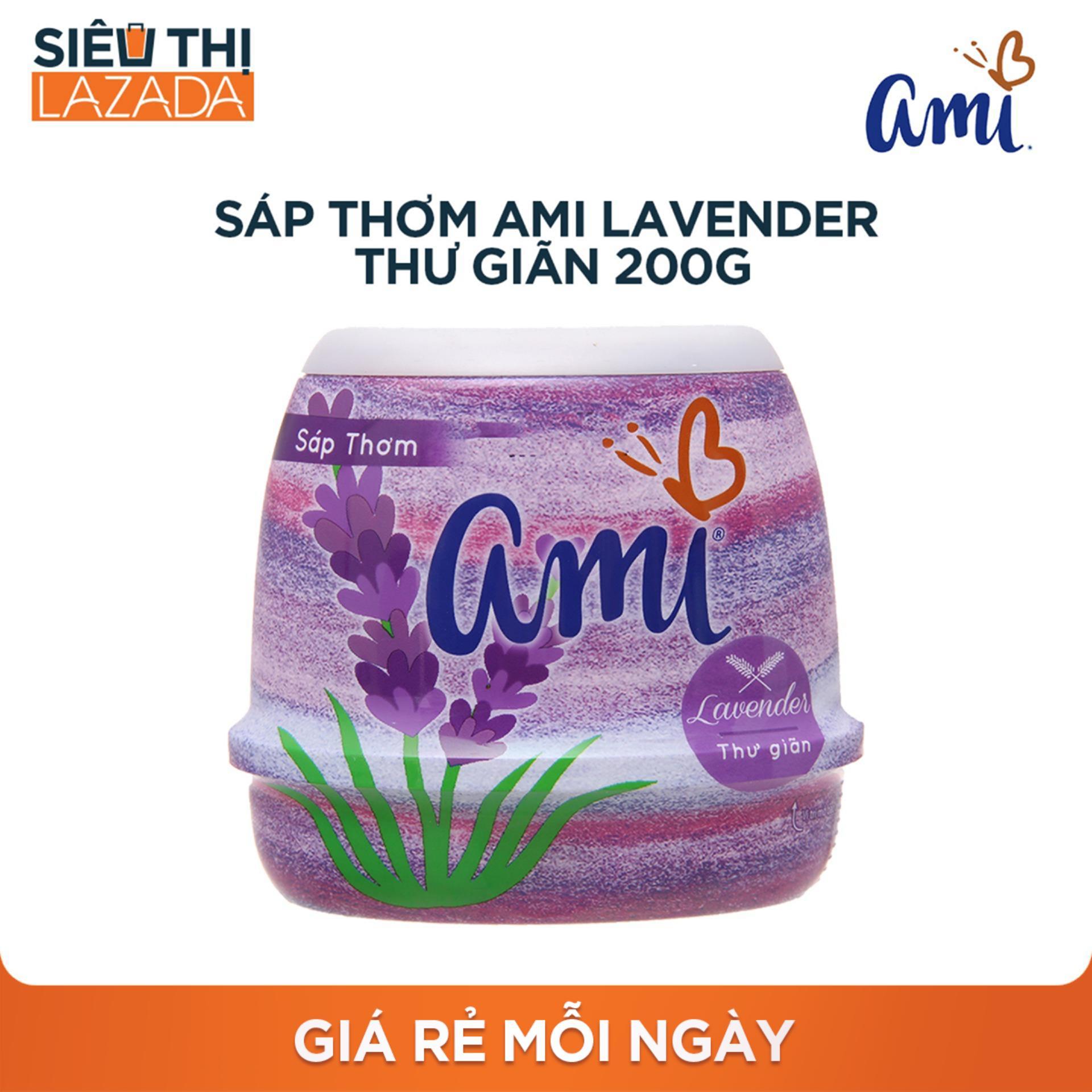 Sáp thơm Ami Lavender - Thư giãn 200g