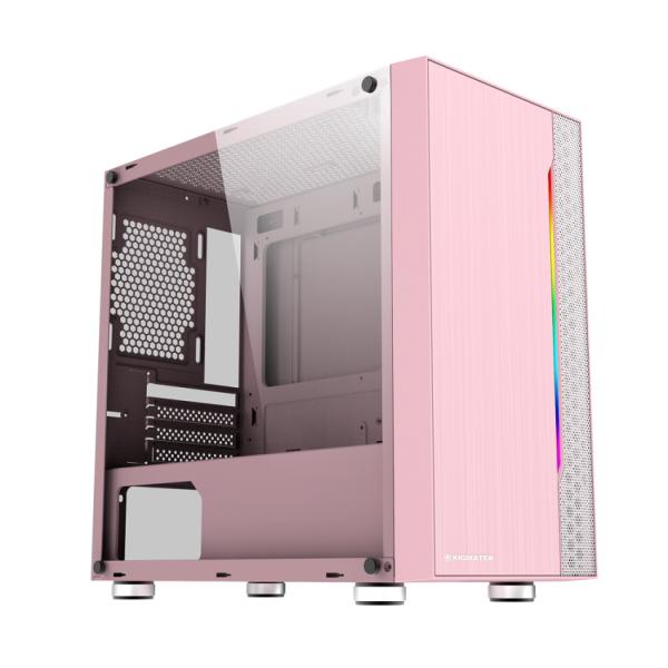 Bảng giá Vỏ Case Xigmatek Gemini Queen (Mini Tower/Màu Hồng) Phong Vũ