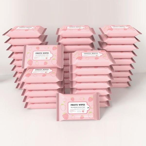 [HCM]Túi 10 miếng khăn giấy ướt tẩy trang tiện lợi nhập khẩu