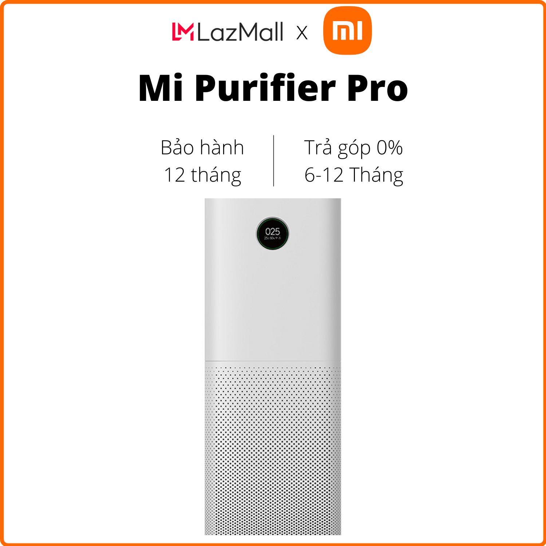 Máy lọc không khí Xiaomi Mi Air Purifier Pro/EU FJY4013GL (Trắng) - Hàng chính hãng DGW - Trả góp 0%