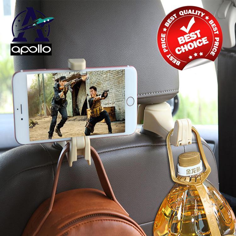 COMBO 02 Móc treo xe, giá đỡ điện thoại đa năng cao cấp
