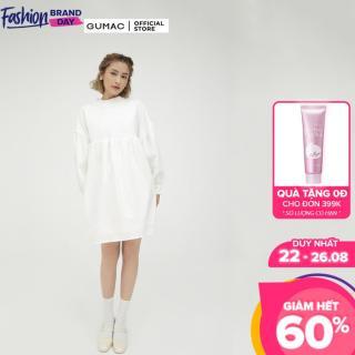 [CHỈ 22.8 GIẢM 15K CHO ĐƠN 150K] Đầm nữ babydoll tay dài GUMAC mẫu mới DB5103 thumbnail