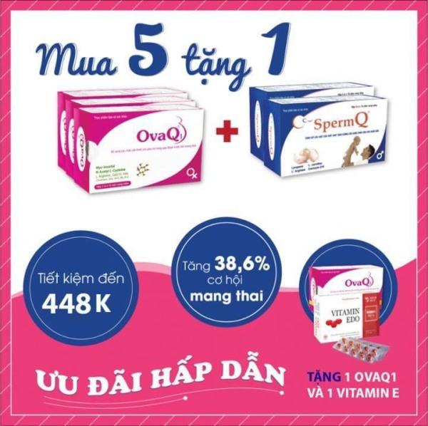 OvaQ1 giúp mang thai tự nhiên, cho Gia Đình mong con