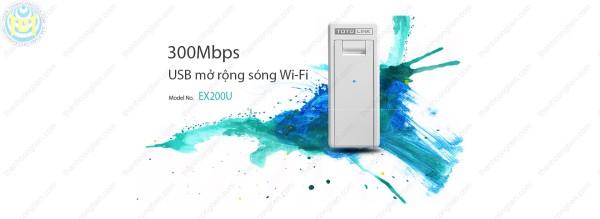 Bảng giá TOTOLINK EX200U - USB mở rộng sóng Wi-Fi 300Mbps Phong Vũ