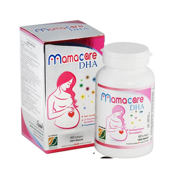 David Health Thực phẩm bảo vệ sức khỏe Nutridom Mamacare DHA 60 viên