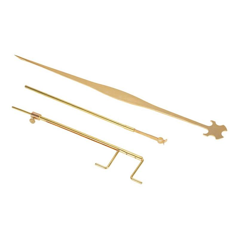 Universal Cello Luthier Tools Kit Set Sound Post Gauge Measurer & Retriever Clamp & Setter Brass Cello Repair Tools