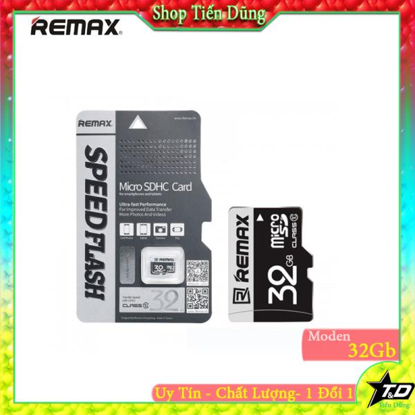 Thẻ nhớ Micro SD 32gb của hãng remax tốc độc Class 10 dùng cho camera, máy ảnh , máy ghi âm, loa , đài và nhiều loại khác