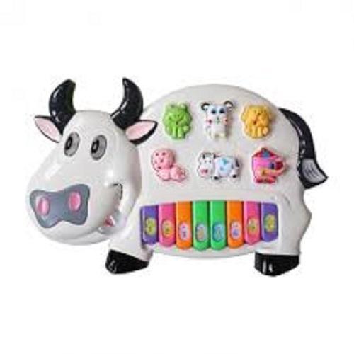 Đồ Chơi đàn Hình Con Bò Sữa, Do Choi Dan Con Bò (kèm Pin) By Chuyên Hàng Gia Dụng & Đồ Chơi Trẻ Em.