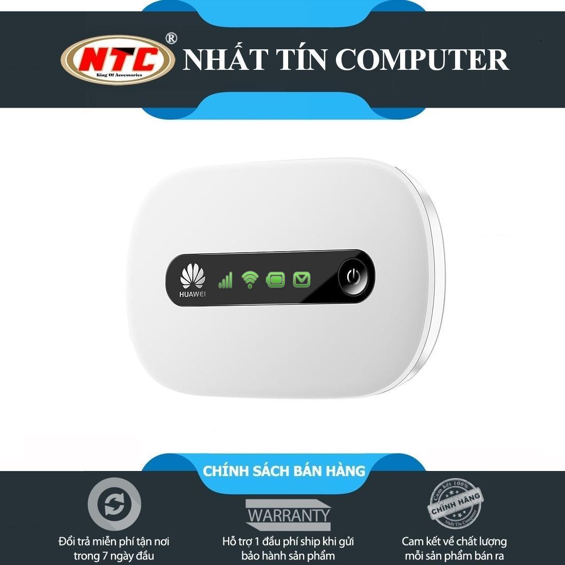 Thiết bị phát wifi từ Sim 3G/4G Huawei E5220 - siêu gọn (Trắng)